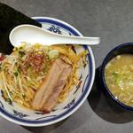 つけ麺や 武双 - 鶏魚介つけ麺(中)