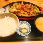 いなよし - 鉄板焼肉定食
