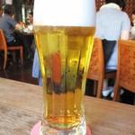 伊達の牛たん本舗 - 生ビール(中)540円