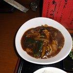 佐敦 - 豚肉と茄子の甘辛味噌炒め