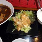 佐敦 - 鶏肉のネギ味噌和え