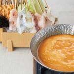 リピーター続出の黄金スープでしゃぶしゃぶ『うずの丘海鮮うにしゃぶ』