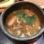 烈志笑魚油 麺香房 三く -