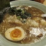 溝ノ口野郎 - 濃厚トリガラ煮干し醤油(700円)