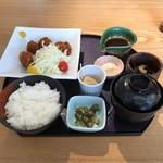 70106912 - 大粒牡蠣フライ御膳。                       税込1000円。                       美味し。