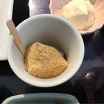 70106920 - わらび餅。                       美味し。