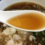 くまの親子 - ダシ汁UP  レンゲが付いてます(^^)