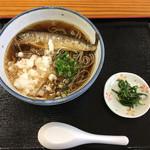 くまの親子 - 山女魚そば ¥1,000-
