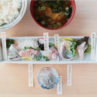 白い海鮮丼~今日のネタなんですか?~