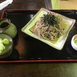 藤橋庵 - 料理写真:ざる蕎麦700円