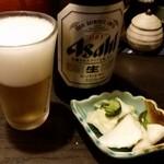 Tonkatsuyamaichi - やまいち 写真2枚めは常にビール