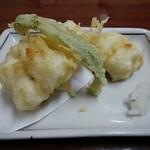 京味菜 わたつね - 鱧の天ぷら