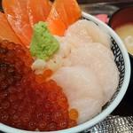 海鮮食堂 澤崎水産 - お好み海鮮丼 2160円