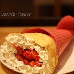 オレンジカウンティ - 大好きいちごのクレープ