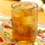 海鮮うまいもんや 浜海道  - ウーロン茶
