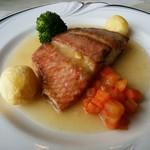 ビストロ ポップコーン - 本日の白身魚のポアレ(140g)