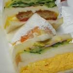 サンドウィッチ ルマン - 料理写真:組み合わせフルーツサンド