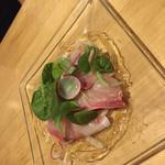 70112869 - 本日の鮮魚のカルパッチョ