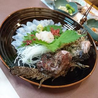 小笠原 - 料理写真:長崎思案橋横丁 おこぜ専門店 小笠原