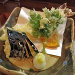 麺 銀三 - 天ぷら