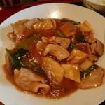 中華料理 なるたん - 肉かけ丼