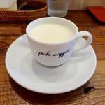 ピーシーエイチ コーヒー - ランチのスープ(ジャガイモのビシソワーズ)