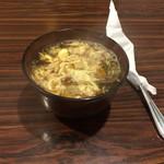 互楽亭 - セットのスープ