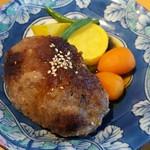 ビストロ黒屋 - 料理写真:小さめのハンバーグ (どこが?)