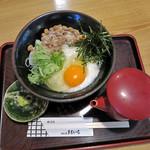 めん処 まるいち - 料理写真:冷やし納豆うどん