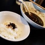70116771 - お茶漬け(100円)のご飯です。