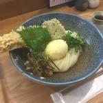 ウドン アン - 料理写真:ちく玉天ぶっかけうどん(750円)