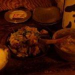 がじゅまる - メニュー外「中華風肉だんご炒め物」