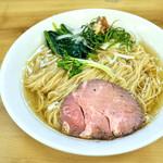 麺処 有彩 - 料理写真:'17.07冷やしにぼらあ