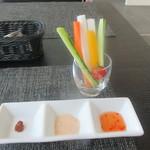 Café des épices  - 野菜スティック