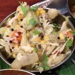 ダバ インディア - 野菜カレー