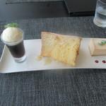 Café des épices  - スイーツトリオ 880円