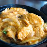 比叡山峰道レストラン - 地鶏丼