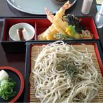 比叡山峰道レストラン - 天ざる