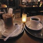 喫茶ガボール - アイスオーレと珈琲