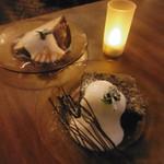 喫茶ガボール - ケーキ2種