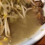 ラーメン二郎 - 激ウマ!塩味スープ
