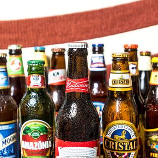 種類充実の飲み放題!&マニアックな世界のビール
