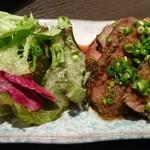 TAKU - 黒毛和牛モモ肉ステーキ さっぱり生姜醤油