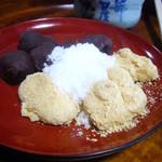石部屋 - 安倍川餅