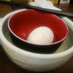 70126789 - ヒーヒー麺付属のタマゴ