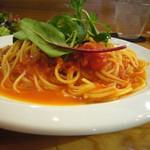 ボノボノ - 縮緬じゃこのトマトソーススパゲティ