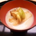 味 ふくしま - 茄子の白味噌仕立て
