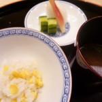 味 ふくしま - 玉蜀黍のご飯