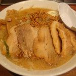 究極の味噌らーめん Misoism - 味噌豚バラチャーシュー+半熟玉子