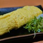 一根六菜 - 師匠の出汁巻き(490円)